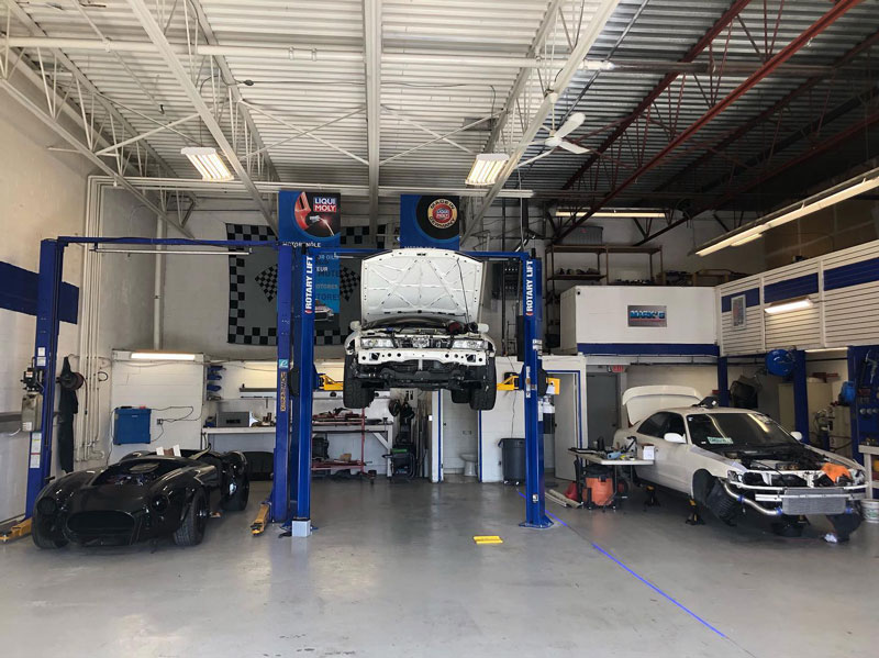 Mark's Auto Performance shop